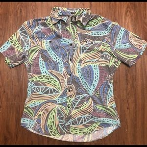 🔥 Volcom button down short sleeve vintage style